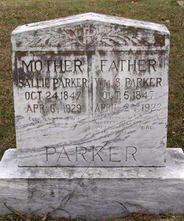 PARKER, WILLIAM S. - Dallas County, Texas | WILLIAM S. PARKER - Texas Gravestone Photos