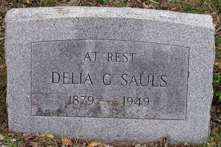 SAULS, DELIA G. - Dallas County, Texas | DELIA G. SAULS - Texas Gravestone Photos