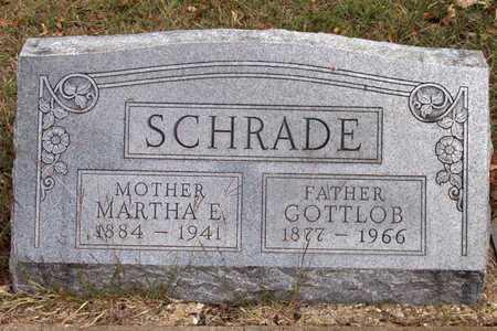 SCHRADE, GOTTLOB - Dallas County, Texas | GOTTLOB SCHRADE - Texas Gravestone Photos