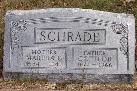 SCHRADE, GOTTLOB - Dallas County, Texas | GOTTLOB SCHRADE - Texas Gravestone Photos