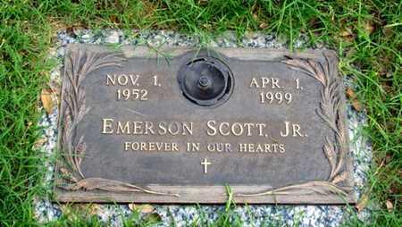 SCOTT, JR, EMERSON - Dallas County, Texas   EMERSON SCOTT, JR - Texas Gravestone Photos