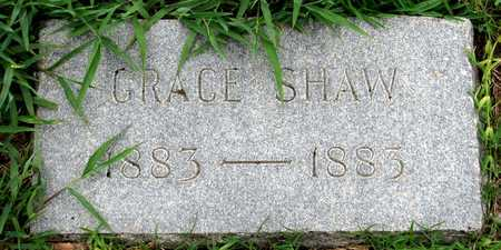 SHAW, GRACE - Dallas County, Texas | GRACE SHAW - Texas Gravestone Photos