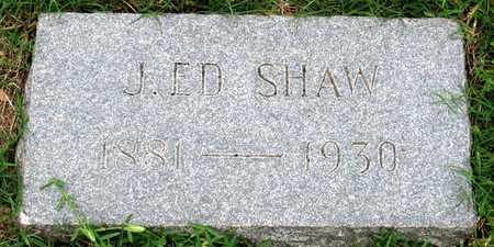 SHAW, J. ED - Dallas County, Texas | J. ED SHAW - Texas Gravestone Photos