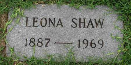SHAW, LEONA - Dallas County, Texas | LEONA SHAW - Texas Gravestone Photos