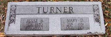 TURNER, JESSE B. - Dallas County, Texas | JESSE B. TURNER - Texas Gravestone Photos