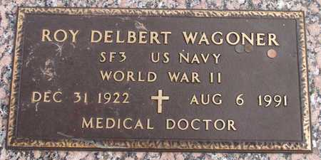 WAGONER (VETERAN WWII), ROY DELBERT - Dallas County, Texas | ROY DELBERT WAGONER (VETERAN WWII) - Texas Gravestone Photos