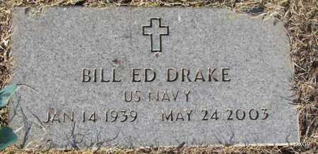 DRAKE (VETERAN), BILL EDD - Deaf Smith County, Texas | BILL EDD DRAKE (VETERAN) - Texas Gravestone Photos