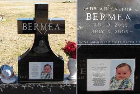 BERMEA, ADRIAN CAELOB - Denton County, Texas   ADRIAN CAELOB BERMEA - Texas Gravestone Photos