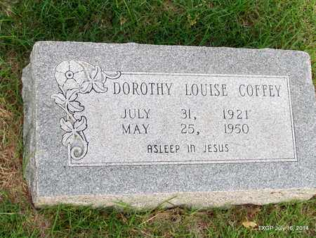 COFFEY, DOROTHY LOUISE - Denton County, Texas | DOROTHY LOUISE COFFEY - Texas Gravestone Photos