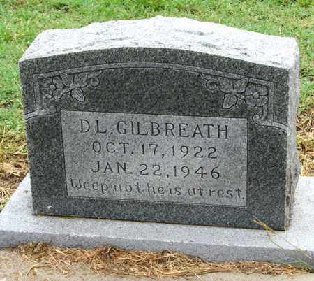 GILBREATH, D. L. - Denton County, Texas | D. L. GILBREATH - Texas Gravestone Photos