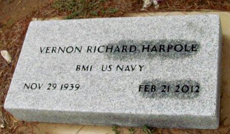 HARPOLE (VETERAN), VERNON RICHARD - Denton County, Texas   VERNON RICHARD HARPOLE (VETERAN) - Texas Gravestone Photos