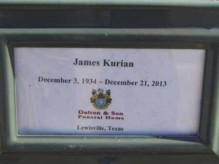 KURIAN, JAMES - Denton County, Texas | JAMES KURIAN - Texas Gravestone Photos