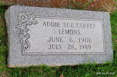 COFFEY LEMONS, ADDIE SUE - Denton County, Texas | ADDIE SUE COFFEY LEMONS - Texas Gravestone Photos