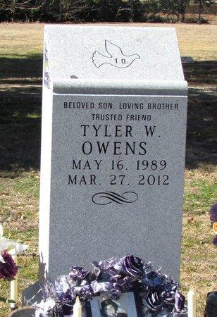 OWENS, TYLER W. - Denton County, Texas | TYLER W. OWENS - Texas Gravestone Photos