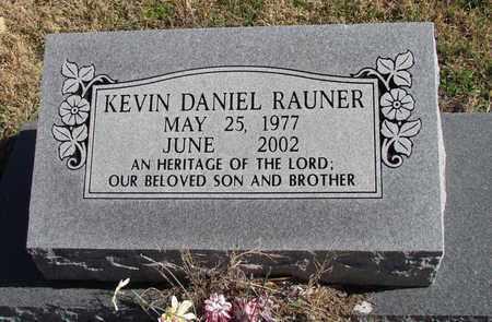 RAUNER, KEVIN DANIEL - Denton County, Texas | KEVIN DANIEL RAUNER - Texas Gravestone Photos