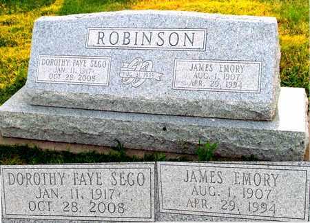 ROBINSON, JAMES EMORY - Denton County, Texas | JAMES EMORY ROBINSON - Texas Gravestone Photos