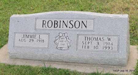 ROBINSON, THOMAS W. - Denton County, Texas   THOMAS W. ROBINSON - Texas Gravestone Photos