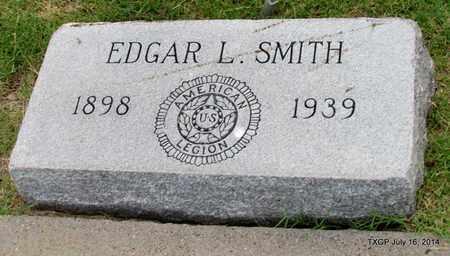 SMITH, EDGAR L. - Denton County, Texas | EDGAR L. SMITH - Texas Gravestone Photos