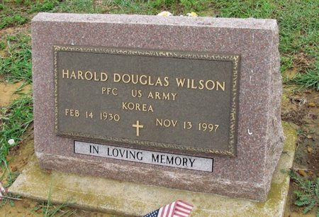 WILSON (VETERAN KOR), HAROLD DOUGLAS - Denton County, Texas | HAROLD DOUGLAS WILSON (VETERAN KOR) - Texas Gravestone Photos