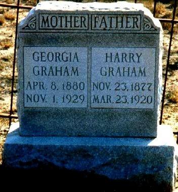 GRAHAM, GEORGIA - Dimmit County, Texas | GEORGIA GRAHAM - Texas Gravestone Photos
