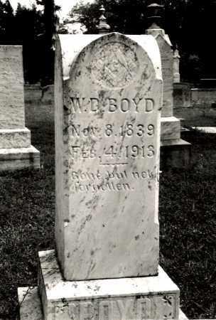 BOYD, WILLIAM D. - Ellis County, Texas | WILLIAM D. BOYD - Texas Gravestone Photos