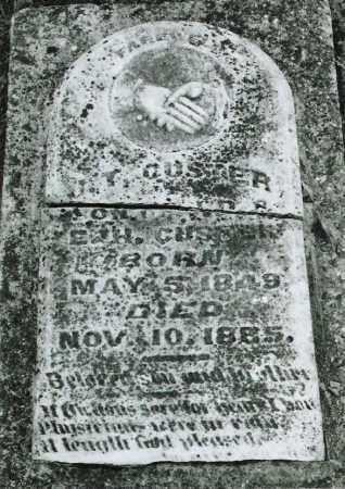 CUSTER, J.T. - Ellis County, Texas | J.T. CUSTER - Texas Gravestone Photos