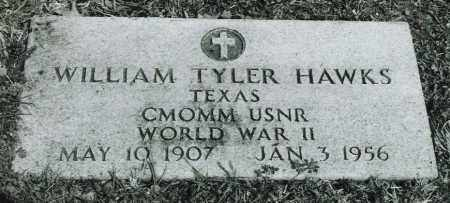 HAWKS (VETERAN WWII), WILLIAM TYLER - Ellis County, Texas | WILLIAM TYLER HAWKS (VETERAN WWII) - Texas Gravestone Photos