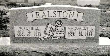 RALSTON, MARGARET L. - Ellis County, Texas | MARGARET L. RALSTON - Texas Gravestone Photos