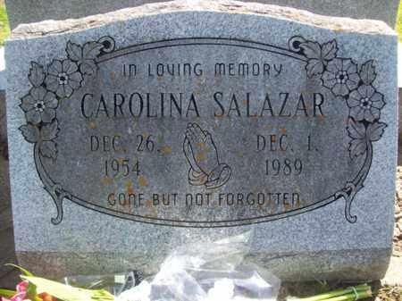 SALAZAR, CAROLINA - Ellis County, Texas | CAROLINA SALAZAR - Texas Gravestone Photos