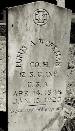 WORKMAN, RUFUS A. - Ellis County, Texas | RUFUS A. WORKMAN - Texas Gravestone Photos