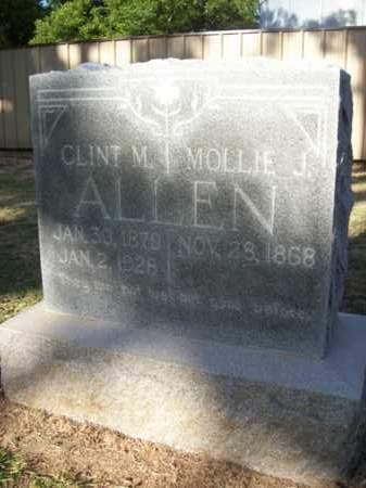 ALLEN, CLINT M. - Erath County, Texas | CLINT M. ALLEN - Texas Gravestone Photos