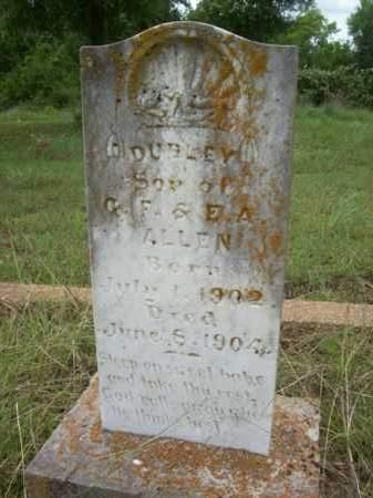 ALLEN, DUDLEY - Erath County, Texas   DUDLEY ALLEN - Texas Gravestone Photos