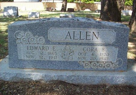 ALLEN, CORA BELL - Erath County, Texas | CORA BELL ALLEN - Texas Gravestone Photos