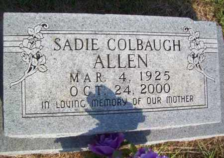 ALLEN, SADIE - Erath County, Texas | SADIE ALLEN - Texas Gravestone Photos