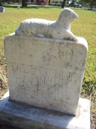 ALLEN, WILLIE W. - Erath County, Texas | WILLIE W. ALLEN - Texas Gravestone Photos