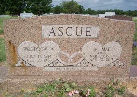 WILLIS ASCUE, MYRTLE MAE - Erath County, Texas | MYRTLE MAE WILLIS ASCUE - Texas Gravestone Photos