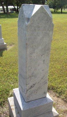 BARRETT BARROW, MARY A. - Erath County, Texas | MARY A. BARRETT BARROW - Texas Gravestone Photos