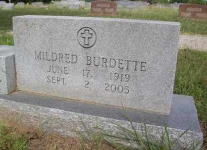 BURDETTE, MILDRED LAVELL - Erath County, Texas | MILDRED LAVELL BURDETTE - Texas Gravestone Photos