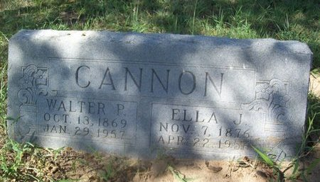 CANNON, LOU ELLA - Erath County, Texas | LOU ELLA CANNON - Texas Gravestone Photos