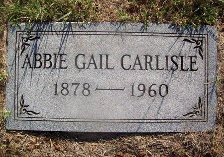 BARNETT CARLISLE, ABBIE GAIL - Erath County, Texas | ABBIE GAIL BARNETT CARLISLE - Texas Gravestone Photos