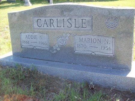 CARLISLE, ADDIE N. - Erath County, Texas | ADDIE N. CARLISLE - Texas Gravestone Photos