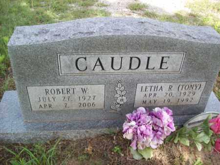 CAUDLE, LETHA R - Erath County, Texas | LETHA R CAUDLE - Texas Gravestone Photos