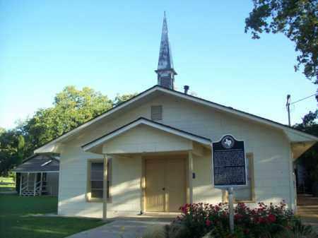 *COTTONWOOD CHURCH,  - Erath County, Texas |  *COTTONWOOD CHURCH - Texas Gravestone Photos