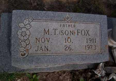 FOX, M.T. - Erath County, Texas | M.T. FOX - Texas Gravestone Photos