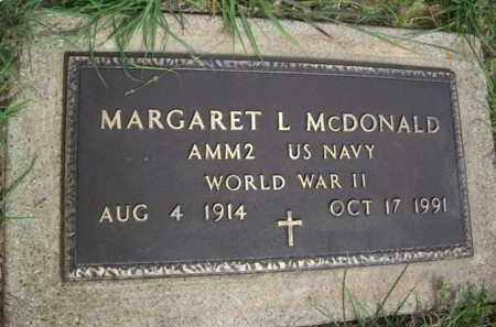 MC DONALD {VETERAN  WWII}, MARGARET L - Erath County, Texas | MARGARET L MC DONALD {VETERAN  WWII} - Texas Gravestone Photos