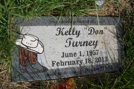 TURNEY, KELLY 'DON' - Erath County, Texas | KELLY 'DON' TURNEY - Texas Gravestone Photos