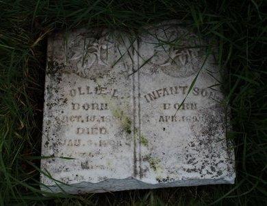 UNKNOWN, INFANT SON - Erath County, Texas | INFANT SON UNKNOWN - Texas Gravestone Photos
