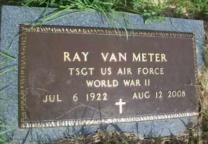 VAN METER {VETERAN WWII}, RAY VAN - Erath County, Texas   RAY VAN VAN METER {VETERAN WWII} - Texas Gravestone Photos