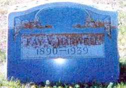 HARWELL, FAY V. - Falls County, Texas | FAY V. HARWELL - Texas Gravestone Photos