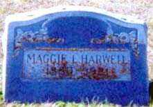 HARWELL, MAGGIE L - Falls County, Texas | MAGGIE L HARWELL - Texas Gravestone Photos